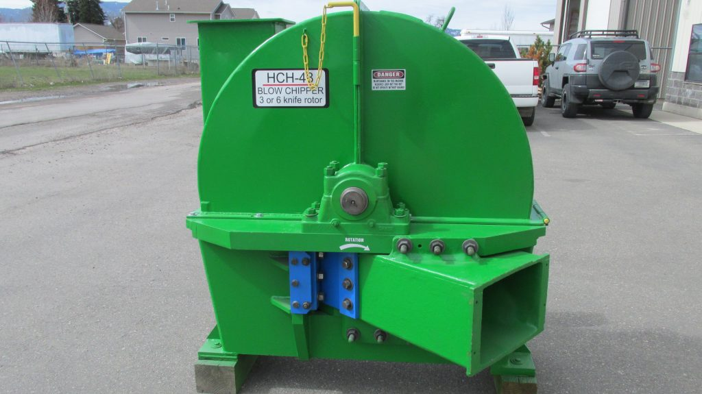 "48 "" Stationary Wood chipper"