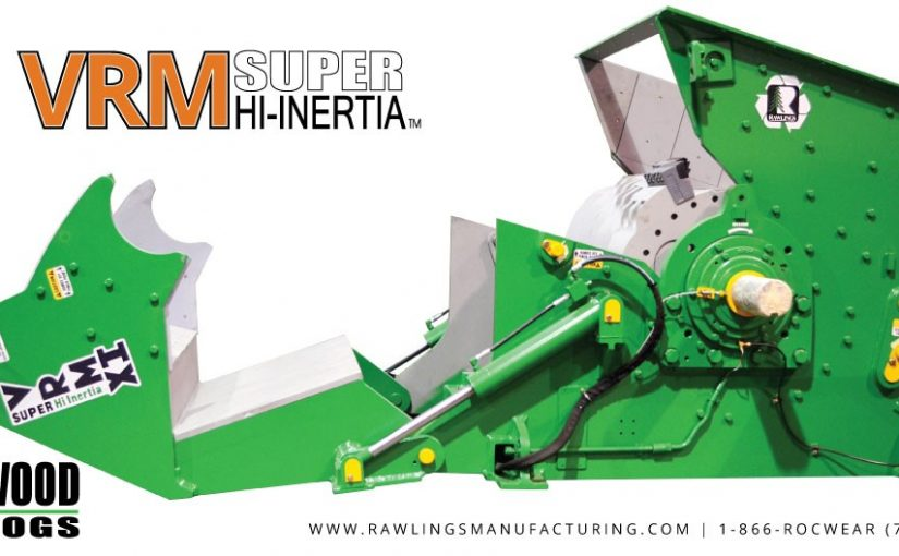 Introducing the VRM Super Hi-Inertia™ Vertical Wood Hog