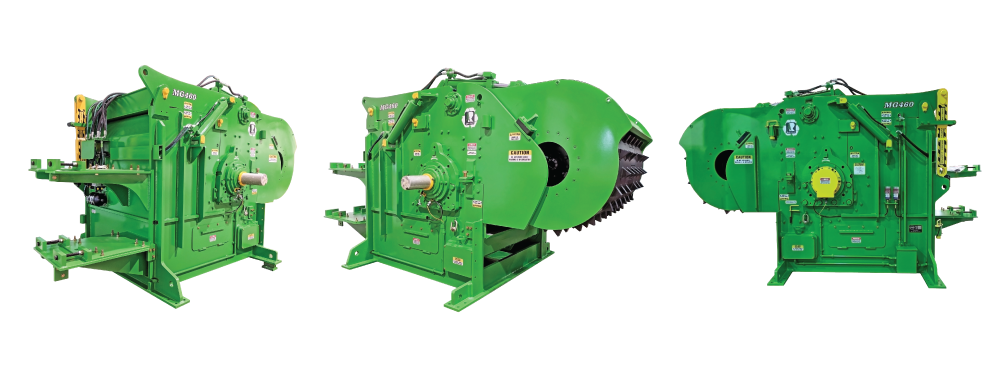 Rawlings Manufacturing, Wood Grinder, Wood Hog, Horizontal Grinder, PXZ, PXI, Super Hi-Inertia, Wood Recycling, Waste Wood, Biomass, Bark Hog, Sawmill, Paper Plant Grinder
