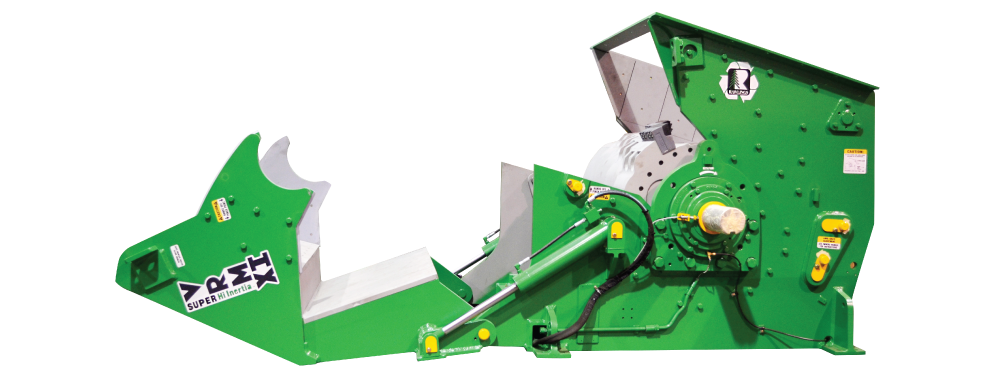 Rawlings Manufacturing, Wood Grinder, Wood Hog, Vertical Grinder, VRM, Super Hi-Inertia, Wood Recycling, Waste Wood, Biomass, Bark Hog, Sawmill, Paper Plant Grinder